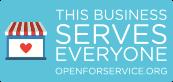 OpenForServiceBadge